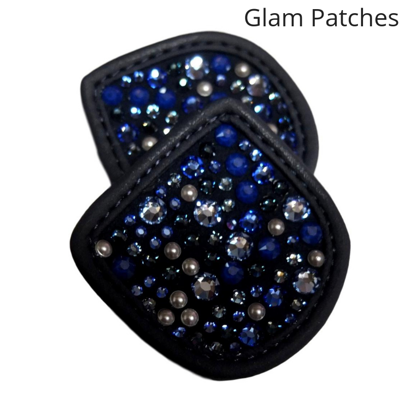 Hauke Schmidt Navy Glam Patches